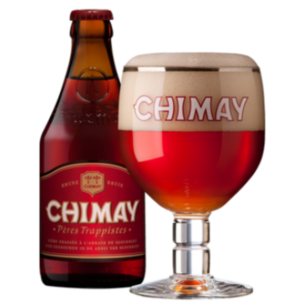 Chimay - Rouge 330ml (11oz) Bottle 24pk Case (Red Label) - Trappist