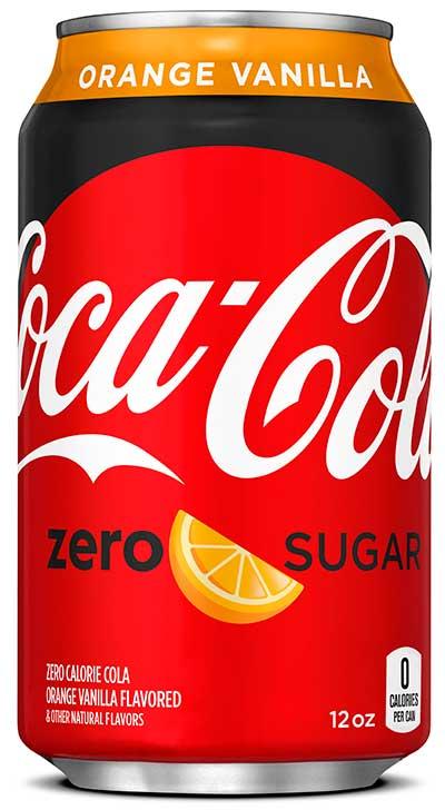 Coke - Zero Orange Vanilla 12oz Can Case