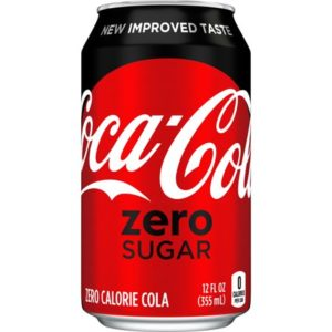 Coke - Zero 12 oz Can 24pk Case