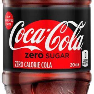 Coke - Zero Sugar 20oz Bottle Case