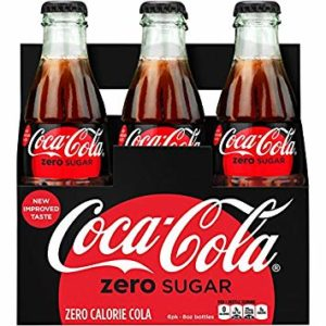 Coke - Zero 8oz Glass Bottle Case
