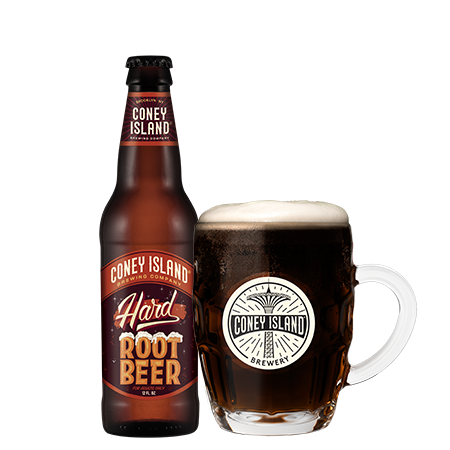 Coney Island - Hard Root Beer 12oz Bottle 24pk Case