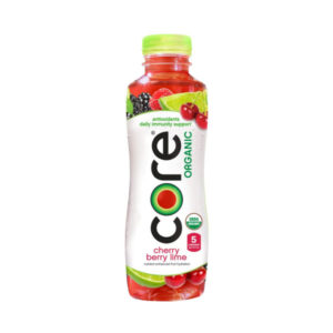 Core - Organic Cherry Berry Lime 18oz Bottle Case