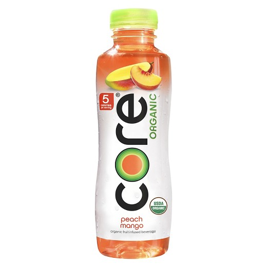 Core - Organic Peach Mango 18oz Bottle Case