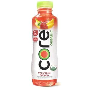 Core - Organic Strawberry Banana 18oz Bottle Case