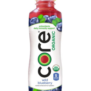 Core - Organic Wild Blueberry 18oz Bottle Case