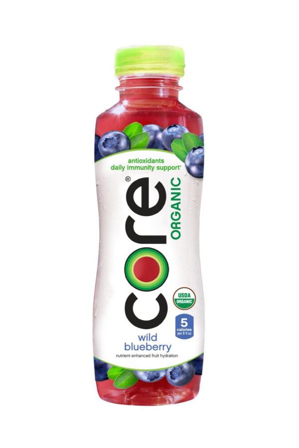 Core - Organic Wild Blueberry 18oz Bottle Case