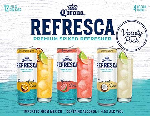Corona - Refresca Premium Spiked Refresher Variety 12oz Can 24pk Case