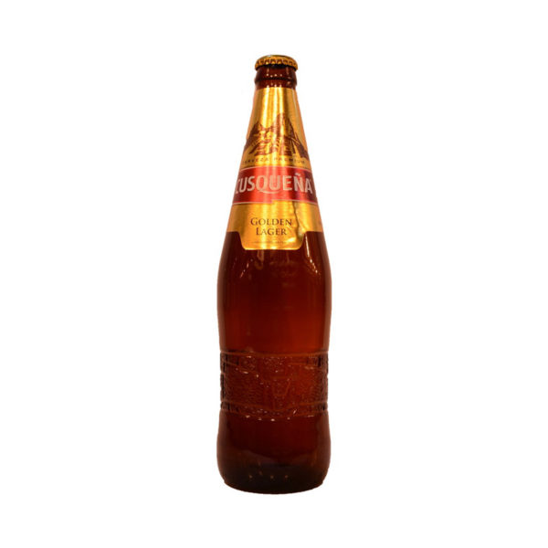 Cusquena - Golden Lager 12oz Bottle 24pk Case