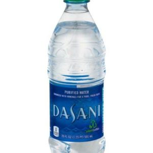 Dasani - Purified Water 20oz Bottle Case - 24 Pack