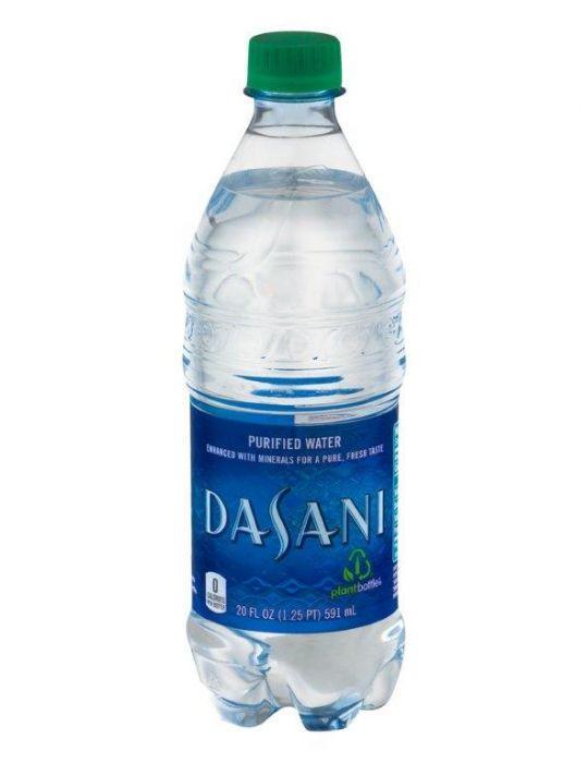 Dasani - Purified Water 20oz Bottle Case - 24 Pack