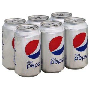 Diet Pepsi - 12 oz Can 24pk Case