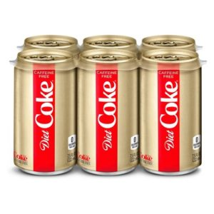 Diet Coke - Caffeine Free 7.5oz Mini Can Case