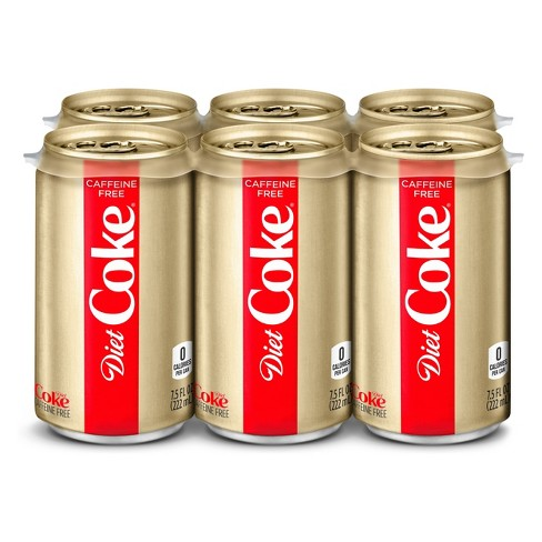 Diet Coke - Caffeine Free 7.5oz Mini Can Case