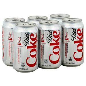 Diet Coke - 12 oz Can 24pk Case