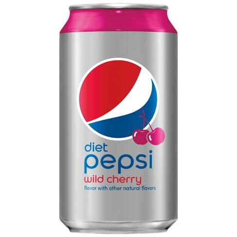 Diet Pepsi - Wild Cherry 12oz Can Case