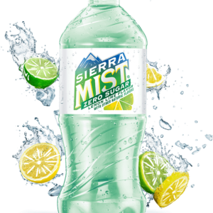 Diet Sierra Mist - 20oz Bottle Case