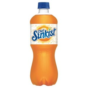 Diet Sunkist - 20oz Bottle Case