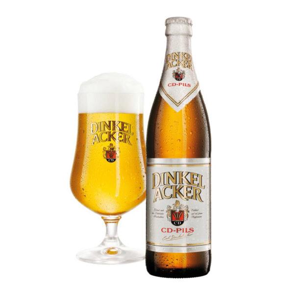 Dinkel Acker - Pilsner 330ml (11.2oz) Bottle 24pk Case