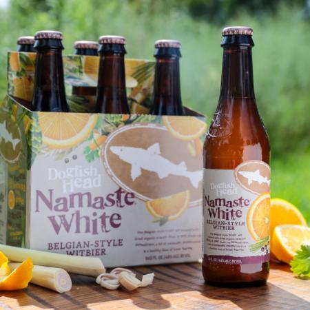 Dogfish - Namaste White 12oz Bottle 24pk Case