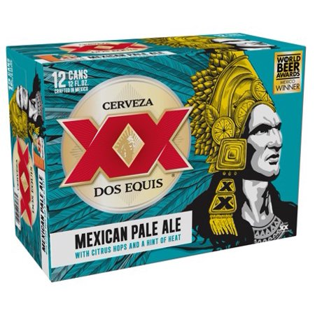 Dos Equis - Mexican Pale Ale 12oz Can 24pk Case