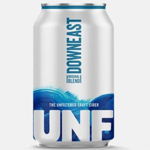 Downeast - Original Unfiltered Cider 12oz Can Case