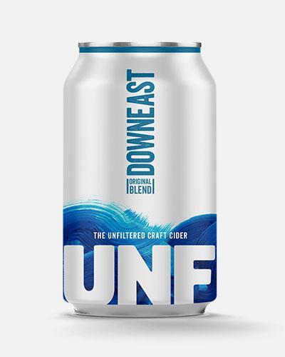 Downeast - Original Unfiltered Cider 12oz Can Case
