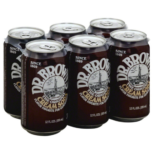 Dr. Brown's - Cream 12 oz Can 24pk Case