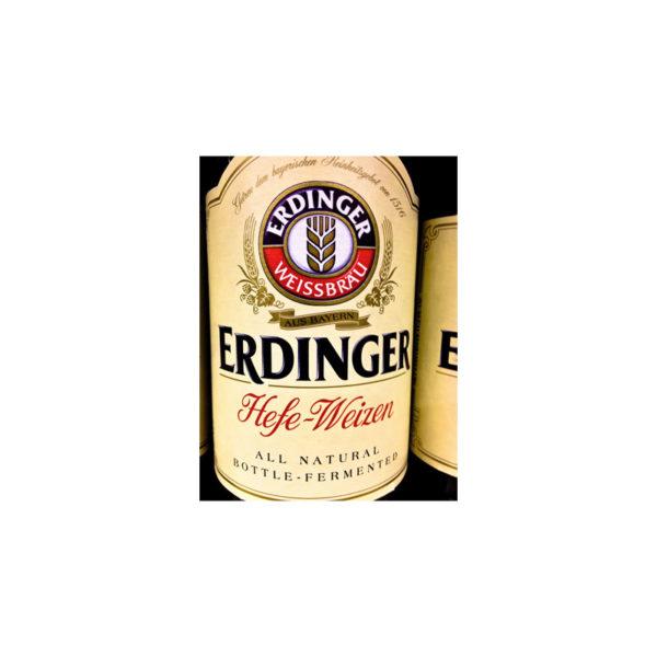 Erdinger - Hefeweizen 500ml (16.9oz) Bottle 24pk Case