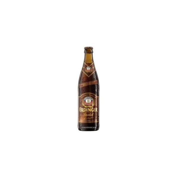 Erdinger - Hefeweizen Dark 500ml (16.9oz) Bottle 24pk Case