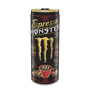Monster - Triple Shot Espresso And Cream 8oz Can Case