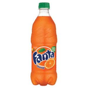 Fanta - Orange 20oz Bottle Case