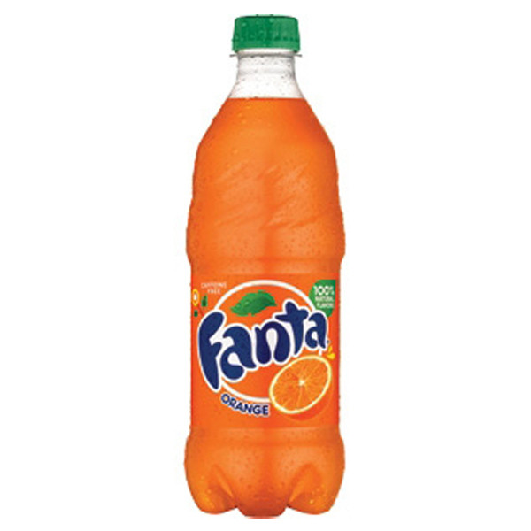 Fanta - Orange 20oz Bottle Case