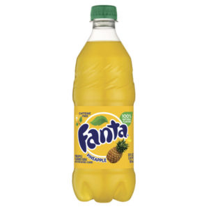 Fanta - Pineapple 20oz Bottle Case