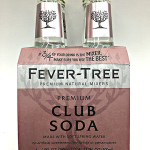 Fever-Tree - Club 6.8oz (200ml) Bottle Case
