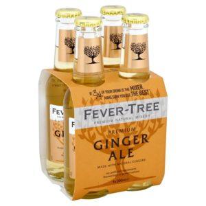 Fever-Tree - Ginger Ale 6.8oz (200ml) Bottle Case