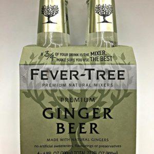 Fever-Tree - Ginger Beer 6.8oz (200ml) Bottle Case