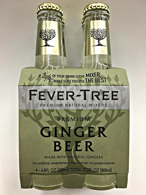 Fever-Tree - Ginger Beer 6.8oz (200ml) Bottle Case