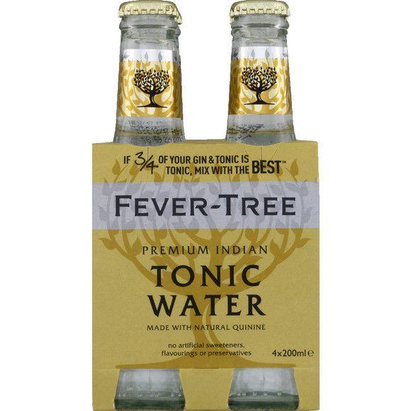 Fever-Tree - Tonic 6.8oz (200ml) Bottle Case