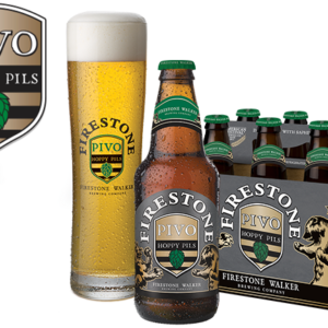Firestone - Pivo Pilsner 12oz Bottle 24pk Case