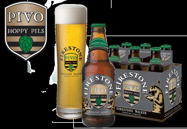 Firestone - Pivo Pilsner 12oz Bottle 24pk Case