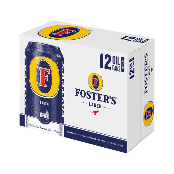 Foster's - Lager 25oz Can 24pk Case