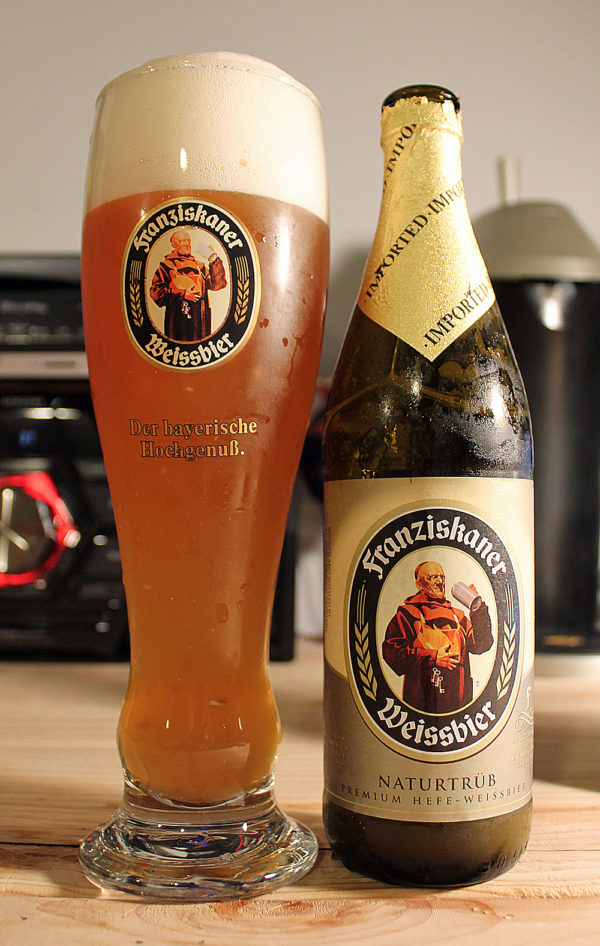 Franziskaner - Hefe-Weissbier 500ml (16.9oz) Bottle 24pk Case