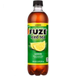 Fuze - Fusions Lemon Iced Tea 20oz Bottle Case