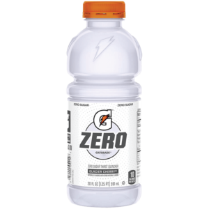 Gatorade - Zero Sugar Glacier Cherry 20oz Bottle Case