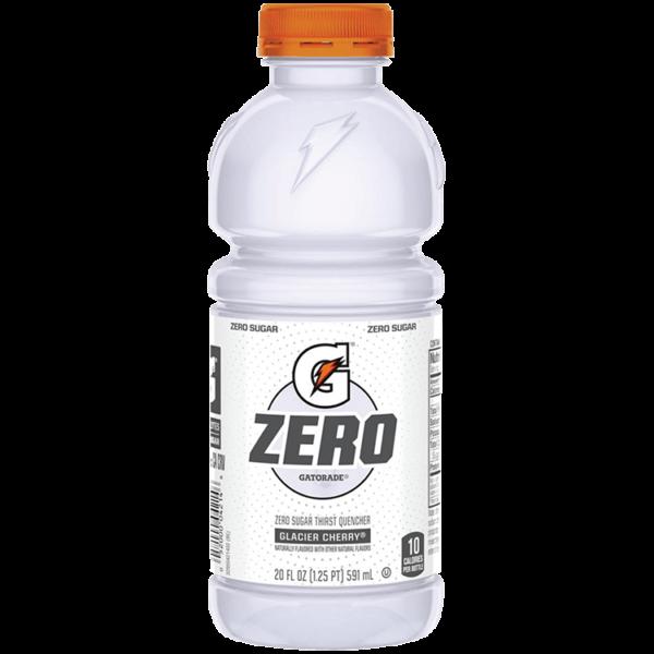 Gatorade - Zero Sugar Glacier Cherry 20oz Bottle Case