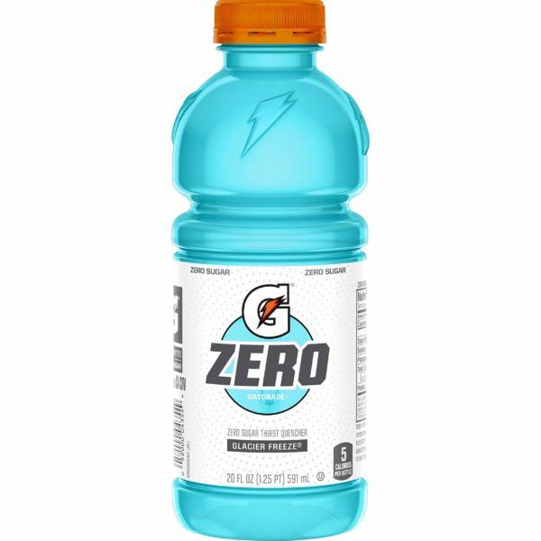 Gatorade - Zero Sugar Glacier Freeze 20oz Bottle Case