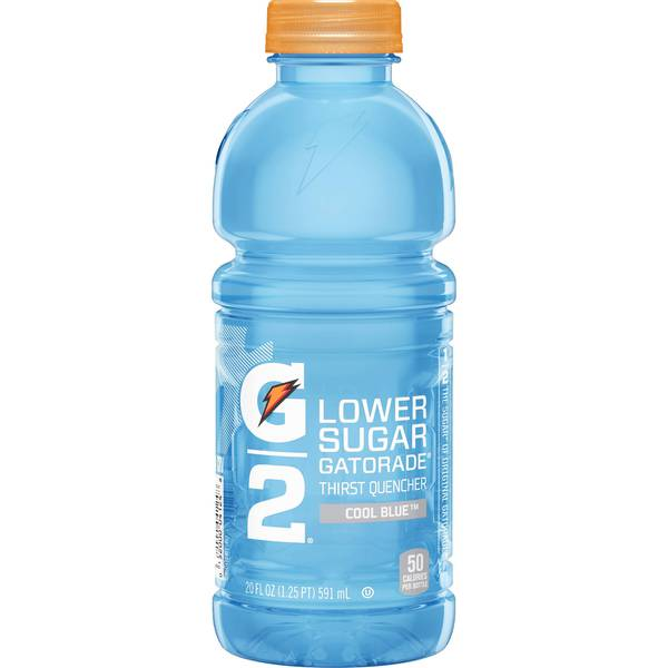 "Gatorade - ""G2"" 20oz Cool Blue Bottle Case"