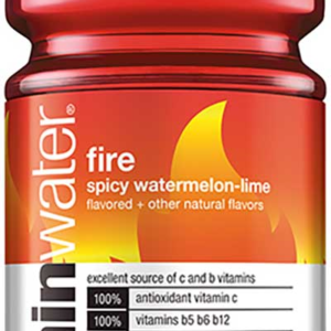 Glaceau - Vitamin Water Spicy Watermelon-Lime (Fire) 20oz Bottle Case - 12 Pack
