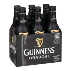 Guinness - Draught 330ml (11.2oz) Bottle 24pk Case